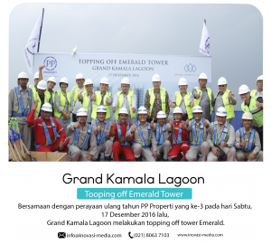Conference Live Rooftop dan Venue Grand Kamala Lagoon bekasi