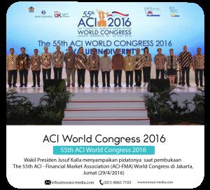 ACI World Congress 55th 2016